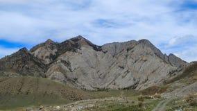 altai Beleza das montanhas brancas Fotos de Stock