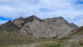 altai Bellezza delle montagne bianche Fotografie Stock