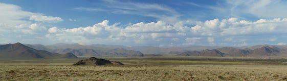 Altai berg. Härligt höglands- landskap arkivfoton