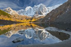 Altai berg, Ryssland, Sibirien royaltyfria bilder
