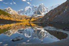Altai berg, Ryssland, Sibirien arkivbilder
