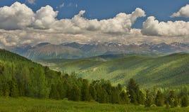 Altai-Berge Lizenzfreies Stockbild