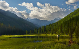 Altai-Berge Stockfotografie