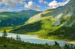 Altai-Berge, Akkem River Valley Lizenzfreies Stockfoto