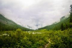 Altai-Berge der schönste Platz in der Welt lizenzfreie stockfotos