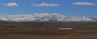 Altai Berge Schöne Hochlandlandschaft Russland Stockfoto
