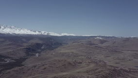 Altai Berge Schöne Hochlandlandschaft Russland sibirien stock video footage