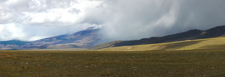Altai Berge Schöne Hochlandlandschaft Russland Sibirien Stockfotos
