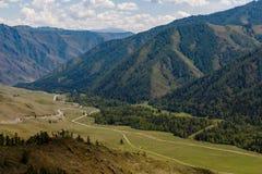 Altai, chike-Taman bergmening stock afbeelding