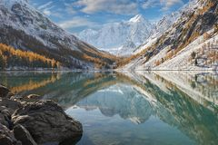 Βουνά Altai, Ρωσία, Σιβηρία στοκ εικόνες με δικαίωμα ελεύθερης χρήσης