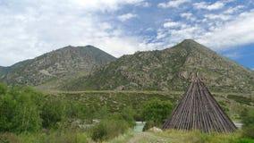 Altai. Cordon Cour-Kechua. Stock Images
