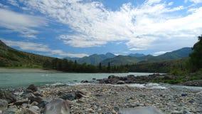 Altai. Cordon Cour-Kechua. Royalty Free Stock Image