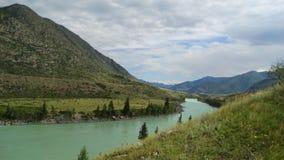 Altai. Cordon Cour-Kechua. Royalty Free Stock Photos