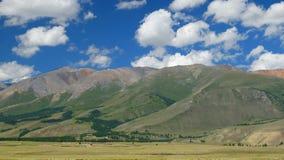 altai Cresta di Kurai Fotografie Stock Libere da Diritti