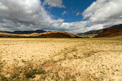 Altai desert mountains Royalty Free Stock Images