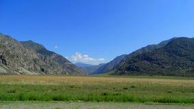 altai duże krajobrazowe halne góry Fotografia Royalty Free