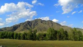 altai duże krajobrazowe halne góry Zdjęcia Royalty Free