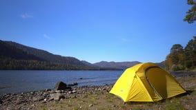 altai Dwa wideo w jeden Żółci namiotów koszty na banku halny jezioro zbiory