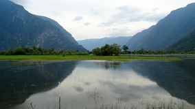 altai Fiume della valle di Chulyshman Immagini Stock Libere da Diritti