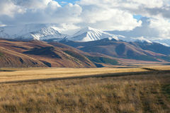 Altai foothill steppes Stock Images