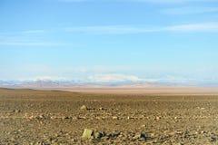 Altai góry w polach Mongolia Zdjęcie Royalty Free