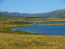 altai jezior halny plateau ukok Obrazy Royalty Free