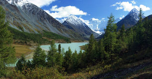 altai Lago Akkemskoe Immagini Stock