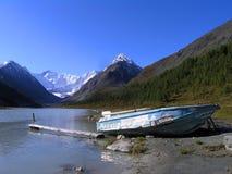 altai Lago Akkemskoe Fotografie Stock Libere da Diritti