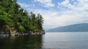 altai Lago Telets Fotografie Stock