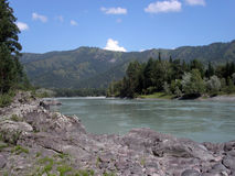 Altai landscape Royalty Free Stock Photo