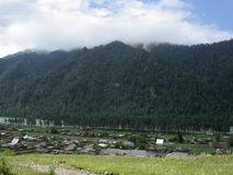 Altai landscape Stock Photography