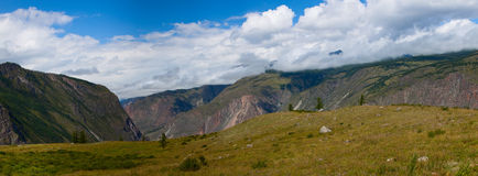 Altai mountains. Beautiful highland landscape Stock Photography