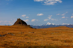 Altai mountains. Beautiful highland landscape Royalty Free Stock Image