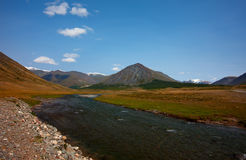 Altai mountains. Beautiful highland landscape Stock Photos