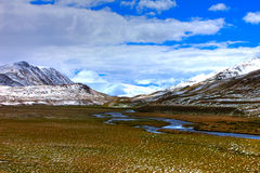 Altai mountains. Beautiful highland landscape Stock Image
