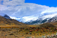Altai mountains. Beautiful highland landscape Stock Photo