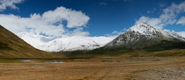 Altai mountains. Beautiful highland landscape Royalty Free Stock Images