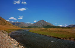 Altai mountains. Beautiful highland landscape Royalty Free Stock Photos