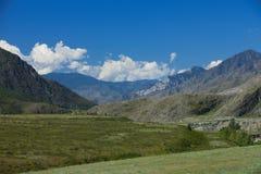 Altai mountains. Beautiful highland landscape. Russia. Siberia stock photo
