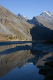 Altai mountains and lake Royalty Free Stock Photography