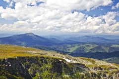 Landscapes of Altai mountains. Royalty Free Stock Photo
