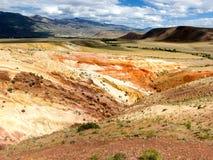 Altai mountains. Mars Valley. Altai mountains. Valley Mars letom.Panorama Royalty Free Stock Image