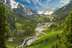 Altai mountains Royalty Free Stock Photography