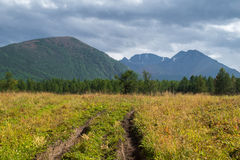 Altai mountains in Russia Royalty Free Stock Photo