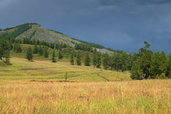 Altai mountains in Russia Royalty Free Stock Photos