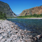 Altai Mountains, Russia Royalty Free Stock Photography