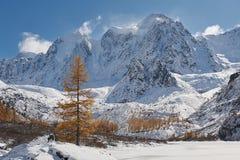 Altai mountains stock photo