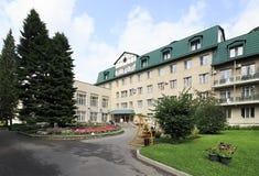 Altai-ovest del sanatorio nella località di soggiorno Belokurikha Fotografie Stock Libere da Diritti