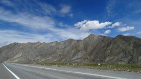 altai Paesaggio della montagna del deserto Immagini Stock Libere da Diritti