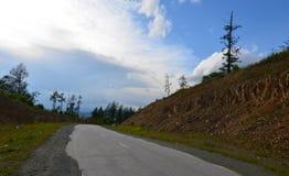 Altai, paesaggio rurale Fotografia Stock Libera da Diritti